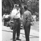 Gregory Peck drinking with Sy Bartlett. - 8x10 photo
