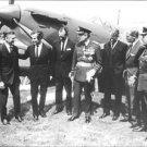 Peter Woolridge Townsend with several men. - 8x10 photo