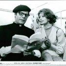 Sophia Loren snd Marcello Mastroianni sitting. - 8x10 photo