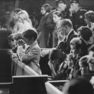 People gathered in church on funeral of Robert F. Kennedy.   - 8x10 photo