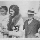 Charlie Chaplin and Lita Grey with their son.  - 8x10 photo