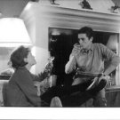 Alain Fabien Maurice Marcel Delon with a woman, drinking. - 8x10 photo