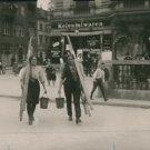 World War I. Female Window-cleaners - 8x10 photo