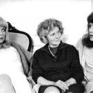 Catherine Deneuve and Françoise Dorléac sitting with woman. - 8x10 photo
