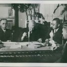 The signing of the Protocol of Khabarovsk. - 8x10 photo