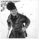 Jussi Bjorling, in Sami clothing, smiling. - 8x10 photo