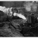 German torch / flame gun in action in 1940 - 8x10 photo