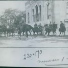 A photo of a Turkish cavalry detachment during Balkan war. 1912 - 8x10 photo