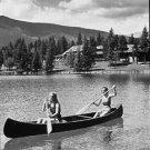 paddling away - 8x10 photo