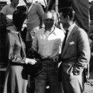 Audrey Hepburn, King Vidor and Richard Todd together. - 8x10 photo