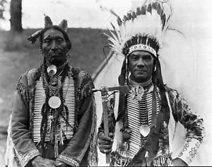 indian chiefs - 8x10 photo