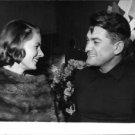 Ingrid Bergman and a man having a good time.  - 8x10 photo