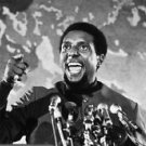Portrait of Stokely Carmichael giving speech. - 8x10 photo