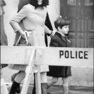 Jacqueline Kennedy Onassis with son John F. Kennedy, Jr. - 8x10 photo