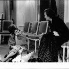 Sophia Loren listening to a woman.  - 8x10 photo