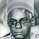 Portrait of Shehu Usman Aliyu Shagari.  - 8x10 photo