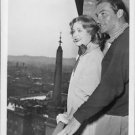 Lex Barker with Arleme Dahl.   - 8x10 photo