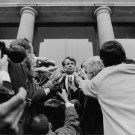 Robert F. Kennedy during a press conference.    - 8x10 photo
