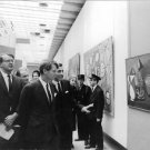 Man describing picture to Robert F. Kennedy.   - 8x10 photo