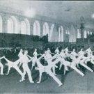 Viktor Balck dancing a ballroom in the hall. - 8x10 photo