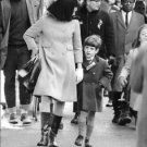 Jacqueline Kennedy with son John F. Kennedy, Jr. - 8x10 photo