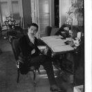 Jaime de Mora y Aragón sitting at a desk. - 8x10 photo