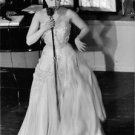 Josephine Baker performing at Berns in Stockholm in 1956. - 8x10 photo