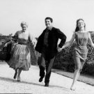 Brigitte Bardot,  Daniel Gélin and Kim Novak showing their happiness. - 8x10 pho