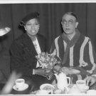 Josephine Baker holding bouquet.  - 8x10 photo