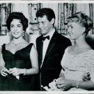 Eddie Fisher, Debbie Reynolds and Lis Taylor - 8x10 photo