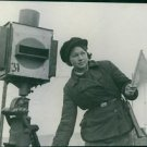 Soviet woman are playing a big part in the war effort. - 8x10 photo