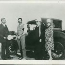 Ernest and Pauline Hemingway with his parents Dr. Clarence Hemingway and Grace H