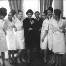 Sophia Loren in group photo. - 8x10 photo