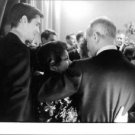 Rear view of Judy Garland at an event, in Paris. - 8x10 photo