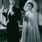 1939 - Allan Bohlin and Tutta Rolf in the film Valfångare.  - 8x10 photo
