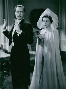 1939 - Allan Bohlin and Tutta Rolf in the film Valfångare.  - 8x10 photo