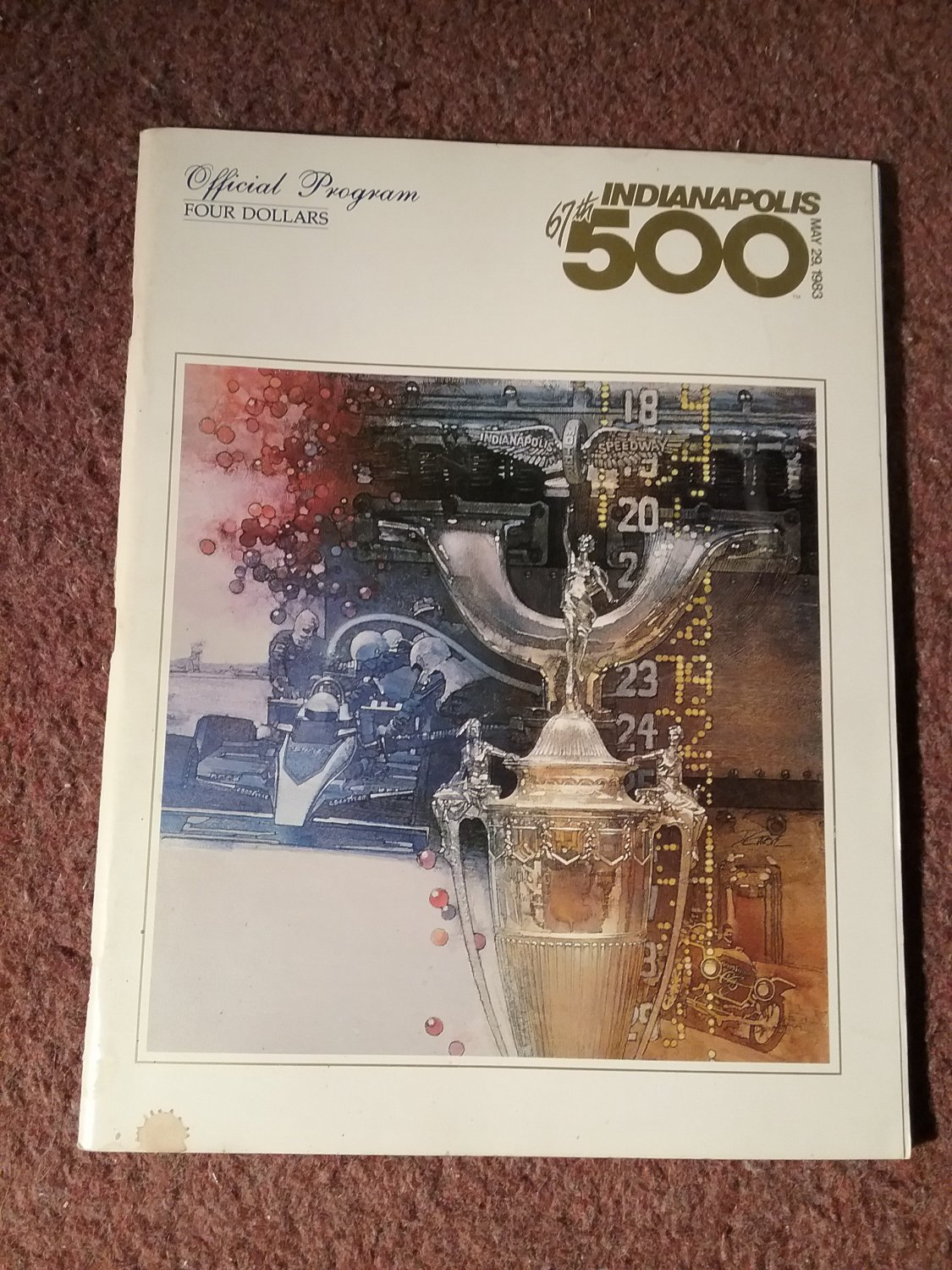 67th Indianapolis 500 1983 Official Program 07071670
