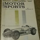 Vintage 1961 Today's Motorsports Golden Anniversary 500, September