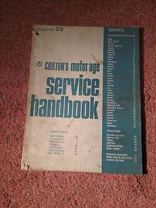 Vintage Magazine, Chilton's Motor/Age 42nd Edition 1967 SKU 07071646