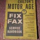 Vintage Magazine, Chilton's Motor/Age 36th Edition 1961 SKU 07071648