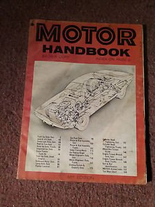 Vintage Motor Handbook Magazine,  51st Edition SKU 07071635