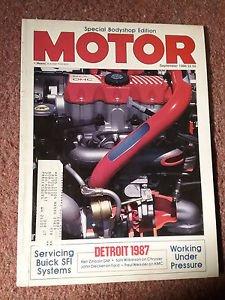 Vintage Motor Magazine, September 1986 , Servicing SFI  SKU 07071624
