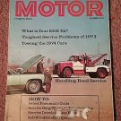 Vintage Motor Magazine, Dec 1973, What's your EGR IQ? sku 07071612