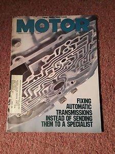 Vintage Motor Magazine, July 1986 , Auto Transmission  SKU 07071622