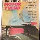 Vintage Motor Trend Magazine, Sept 1961, Chevy 409,  SKU 07071642