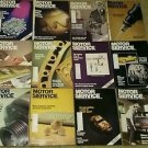 Vintage Motor Service Magazine, 12 Issues (Full Year) 1990 sku 07071604
