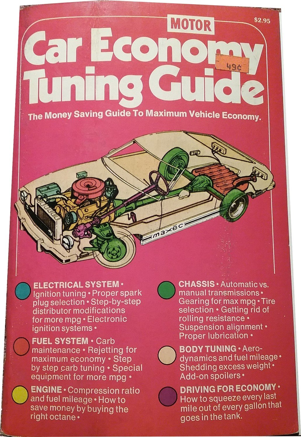Vintage Motor 1976 Car Economy Tuning Guide. The Money Saving Guide  07071688