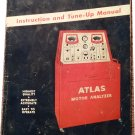 1946 Atlas Motor Analyzer Instruction and Tune Up Manual 07071698```