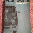 Volkswagen Transporter Owners Manual Original