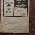Vintage 1973-1986 Chevrolet Light Truck Catalog, Axles, Gears, Linkage 070716115